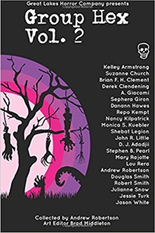 Group Hex Vol. 2 anthology  book cover - horror anthology, short stories