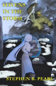 Havens in the Storrm book cover - fantasy novel