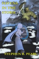 Havens in the Storm book cover - traditional fantasy, coming soon
