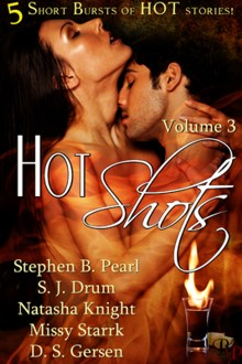Hot Shots 3 book cover - anthology, short stories