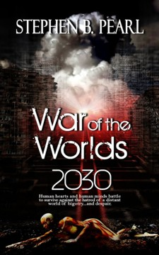 War of the Worlds 2030 book cover - science fiction novel