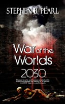 War of the Worlds 2030 book cover - military science-fiction romance novel